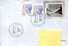 50205 Italia, Special Postmark 2004 Villa Sant'antonio Oristano, La Valle Dei Menhir (archeology) - Italie
