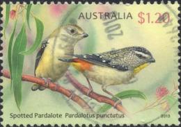 2013 Australia - Oiseau , Bird $1.20 Spotted Pardalote Used YT No. 3803 - Oblitérés