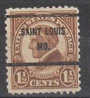USA Precancel Vorausentwertung Preo, Bureau Missouri, Saint Louis 633-61 - Vereinigte Staaten