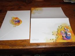 Escargot Escargots Papier à Lettre Avec Enveloppe Souris - Kinder & Diddl