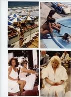 LOT DE 4 PHOTOS 9.5 X 14 CM PIN UP STARLETTES FESTIVAL DE CANNES TOUTES SCANNEES - Pin-up