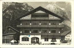 "Leutasch (Tirolo, Austria) Weidachsee, ""Pension Gasthof Zum See"" - Leutasch"
