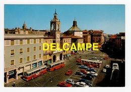 DF / AUTOMOBILES / AUTOCARS ITALIENS PLACE DES TROIS MARTYRS À RIMINI ( ITALIE ) - Bus & Autocars