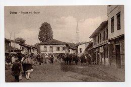 - CPA VALONA (Albanie) - Piazza Del Bazar (belle Animation) - Foto Alterocca 35004 - - Albania
