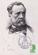 France 1984 Maximum Card: Medicine Health Louis Pasteur Pasteur Challange; Chemistry; Biology; Grenoble - Medizin