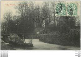 76 LE HOULME. Rivière De Cailly Avec Maraîcher 1907 - Francia