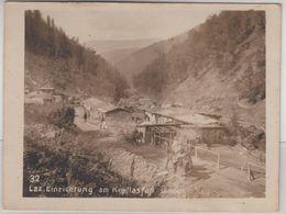Rumänien - Kopilas (Karpathen), Lazarett-Einrichtung, Sw-Foto 11,5x8,5 Cm 1.WK - Romania