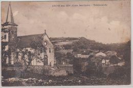 Deutschland - Saarland, Ihn (Wallerfangen), Sw-AK (Kirche, Ort) Ungelaufen 1914 - Germany