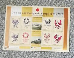 Japan 2019 Tokyo 2020 Olympic Game Sheet MNH** - Summer 2020: Tokyo