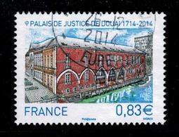 2014 N 4902 PALAIS DE JUSTICE DE DOUAI OBLITERE CACHET ROND 26-12-2014 #229# - Frankreich