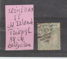 TRINIDAD: Yv N° 55 Obl Irlandaise Losange 38 De Dallyclare TB - Trinidad & Tobago (1962-...)