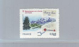 FRANCE 2010 - Autoadhésif  Y&T N° 415 - 150e Anniversaire Du Rattachement De La Savoie à La France - Neuf ** - France