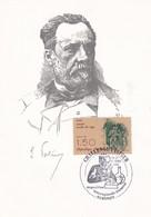 France 1995 Maximum Card: Medicine Health Louis Pasteur Pasteur Challange; Chemistry; Biology; Bondy - Medizin