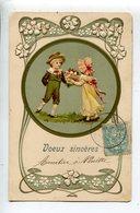 Illustrateur  Enfants Embossed Postcard - Illustrators & Photographers