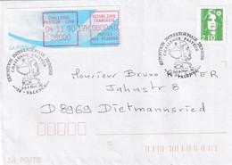 France 1990 Cover: Medicine Health Louis Pasteur Pasteur Challange; Chemistry; Frama Label - Pasteur Rare; Valence - Medizin
