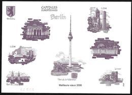 Francia/France: Prova, Proof, épreuve, Monumenti Architettonici Di Berlino, Berlin Architectural Monuments, Monuments Ar - Monumenti