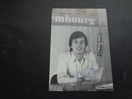 Artiste ( 613 )  Artiest Zangeres  Zanger ( Geen Postkaart ) Dédicasse Signature Handtekening : Bart Van De Laar - Chanteurs & Musiciens