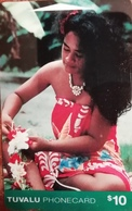 *TUVALU - ITIC* -  Scheda Usata - Tuvalu