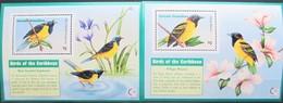 Grenada  Grenadines  1995  Birds   2 S/S  MNH - Oiseaux