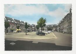 14 CAEN - La Place Fouque - Animé 2CV Citroen - Cpsm Calvados - Caen