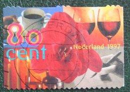 Amarylis Flower Blumen NVPH 1720 1720c (Mi 1735); 1999 1997 Gestempeld / USED NEDERLAND / NIEDERLANDE - 1980-... (Beatrix)