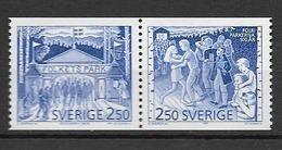 1991 MNH Sweden,Michel 1672-3, Postfris - Sweden