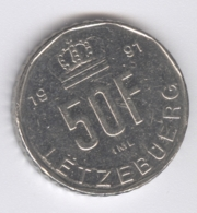 LUXEMBOURG 1991: 50 Francs, KM 66 - Luxembourg