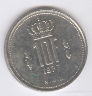 LUXEMBOURG 1977: 10 Francs, KM 57 - Luxembourg