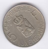 LUXEMBOURG 1962: 5 Francs, KM 51 - Luxembourg