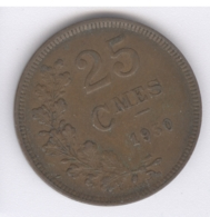 LUXEMBOURG 1930: 25 Centimes, KM 42 - Luxembourg