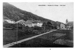 CPA 39 - LESCHERES - ENTREE DU VILLAGE COTE SUD - France