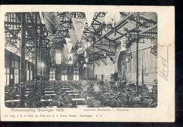Groningen - Tentoonstelling Japansch Marktplein Feestzaal 1905 - Groningen
