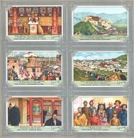Liebig - Volledige Reeks - Lhasa, Heilige Stad Van Het Lamaïsme - Nederlands - Liebig