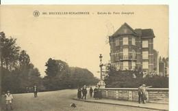CP.Bruxelles-Schaerbeek (ex-Collection DELOOSE) - Entrée Du Parc Josaphat - W0376 - Schaerbeek - Schaarbeek