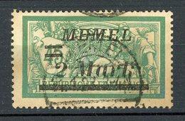 MEMEL - TYPE MERSON  N° Yvert 69 Obli. - Memel (1920-1924)