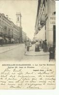 CP.Bruxelles-Schaerbeek (ex-Collection DELOOSE) - La Rue De Brabant Eglise SS. Jean Et Nicolas - W0383 - Schaerbeek - Schaarbeek
