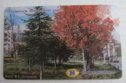 Magadan. Spherecom. Autumn. - Russia