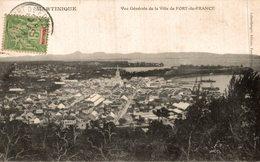 MARTINIQUE VUE GENERALE DE LA VILLE DE FORT DE FRANCE - Fort De France