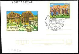 Italia/Italy/Italie: FDC, Intero, Stationery, Entier, VIII Raduno Internazionale Dei Walser, VIII International Gatherin - Culture