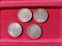 EGITTO 2 Piastre 1937 Per 4 Monete - Egitto