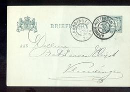 Arnhem Rotterdam C Grootrond Vlaardingen - 1902 - Marcofilia