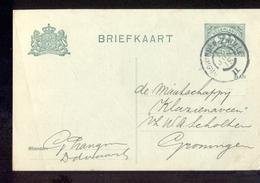 Groningen Zwolle II Grootrond - 1915 - Geuzendam - Postal History