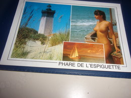 CPM CPSM  GARD   PHARE DE L ESPIGUETTE - France
