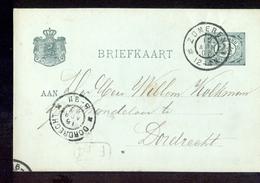Zomeren Grootrond Dordrecht - 1903 - Postal History