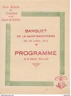 3 Documents Sur L'école Militaire D'Infanterie & De Char De Combat De St-Maixent  Programme Fête + Prg + Journal (1933) - Documents