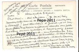 CPA 36 VERNEUIL Sur IGNERAIE- Carte Envoyée Par Le Peintre Fernand MAILLAUD - Signature - Retour De Foire En Berry - Artistes