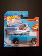 Hot Wheels Land Rover Baja  Bleue - HotWheels