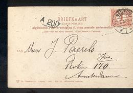 Neuzen 1 Langebalk - 1907 - Marcofilia