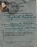 1931 - Carte Du MINISTÈRE DU TRAVAIL - BOBIGNY- Autorisation De Se Déplacer à L'étranger Pour Une Courte Durée - Historische Documenten