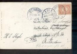 Driebergen 2 Langebalk Rotterdam 36 - 1913 - Marcophilie
